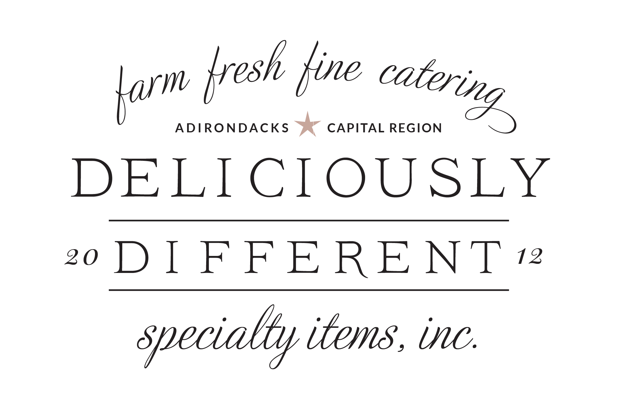 Deliciously Different saratoga new york wedding event caterer